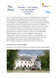 Grünhaus – Vom Tagebau - NABU-Stiftung Nationales Naturerbe