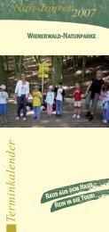 Terminkalender - Naturparke