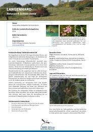 Langenhard neu! - NABU-Stiftung Nationales Naturerbe