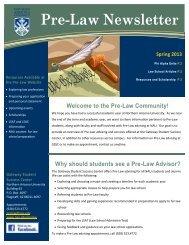 Pre-Law Newsletter - Northern Arizona University