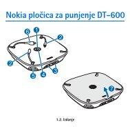 Nokia pločica za punjenje DT-600