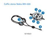 Cuffie stereo Nokia WH-500