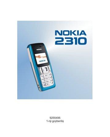 9255495 1-nji goýberiliş - Nokia