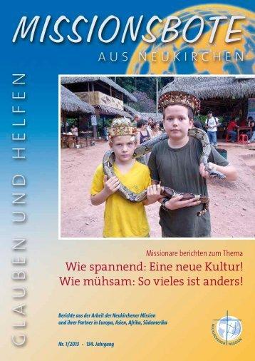 Ausgabe 1 - neukirchener-mission.de