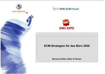 ECM-Strategien für das Büro 2020 - ECM Navigator