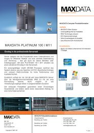 MAXDATA PLATINUM 100 I M11
