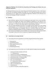 Allgemeine Richtlinien für die Arbeit der Ausschüsse ... - Kreis Unna