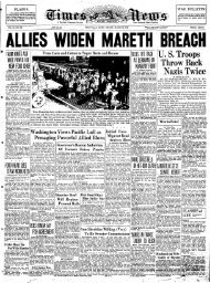 ALLIES WIDEN MARETH BREACH