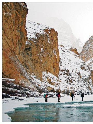 Reise auf dem gefrorenen Fluss - 4-Seasons.de