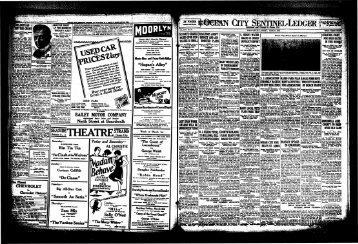 Mar 1926 - On-Line Newspaper Archives of Ocean City