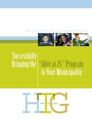 """""""Alive at 25®"""" Program - State of New Jersey"""