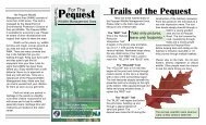 Pequest Trails Guide - State of New Jersey