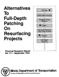 Alternatives To Full-Depth b Patching b On Resurfacing Projects