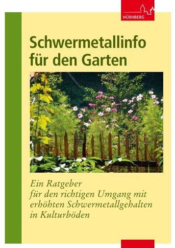Schwermetalle im Garten - Stadt Nürnberg