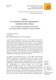Grußwort von Erzbischof Dr. Robert Zollitsch zum 75. Geburtstag ...