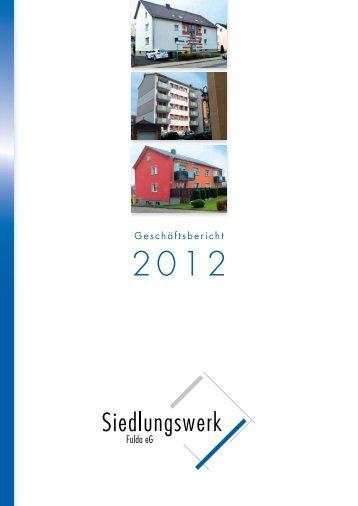 Siedlungswerk Fulda 3 free magazines from siedlungswerkfulda