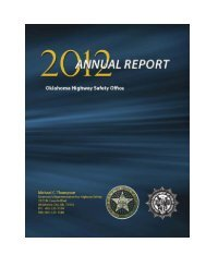 2012 Annual Report - State of Oklahoma