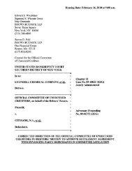 Plaintiff, v. CITIBANK, N.A., et al., Defendants. Adversary Proceeding ...