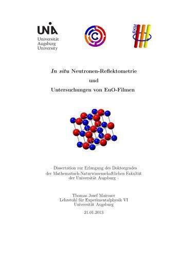 Doktorarbeit_Mairoser.pdf - OPUS - Universität Augsburg