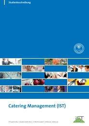 Studienbeschreibung Catering Management - IST-Studieninstitut