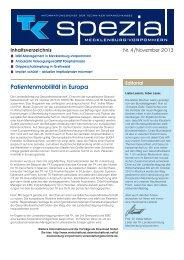 TK spezial Ausgabe 4 - November 2013 (PDF, 345 KB ) - Techniker ...