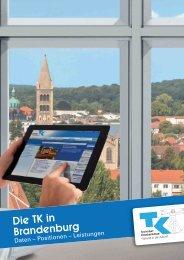 Die TK in Brandenburg (PDF, 658 KB ) - Techniker Krankenkasse