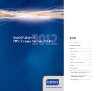 Geschäftsbericht ENSO Energie Sachsen Ost AG