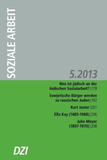 Julie Meyer - Deutsches Zentralinstitut für soziale Fragen