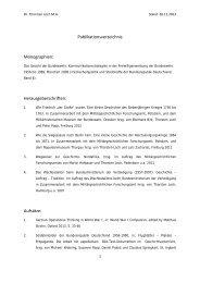 Publikationsverzeichnis Monographien - Militärgeschichtliches ...