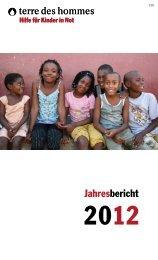 terre des hommes - Jahresbericht 2012