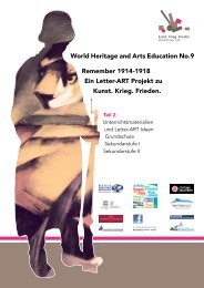 World Heritage and Arts Education No.9 Remember 1914 -1918 Ein ...