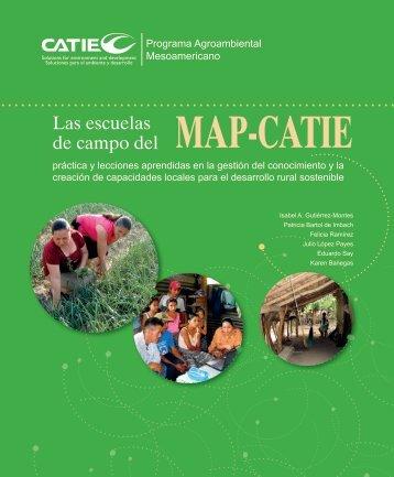 Las escuelas de campo del MAP-CATIE