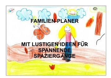 """Familienkalender """"Erkundungsspaziergänge"""" - PAPI"""