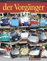 October - Porsche Club of America