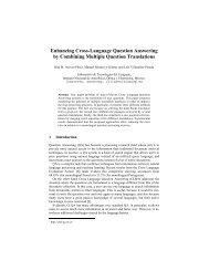 Enhancing Cross-Language Question Answering by Combining ...