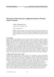 Research on Electronic-nose Application Based on Wireless Sensor ...