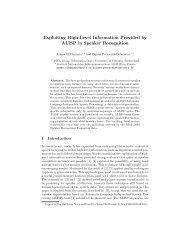 Exploiting High-Level Information Provided by ALISP in Speaker ...