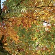 Jahresheft 2012 - Hospizkreis im Landkreis Miesbach eV