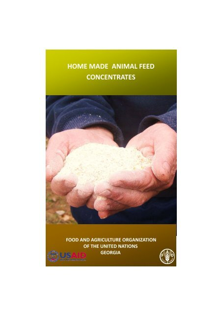 HOME MADE ANIMAL FEED CONCENTRATES - usaid