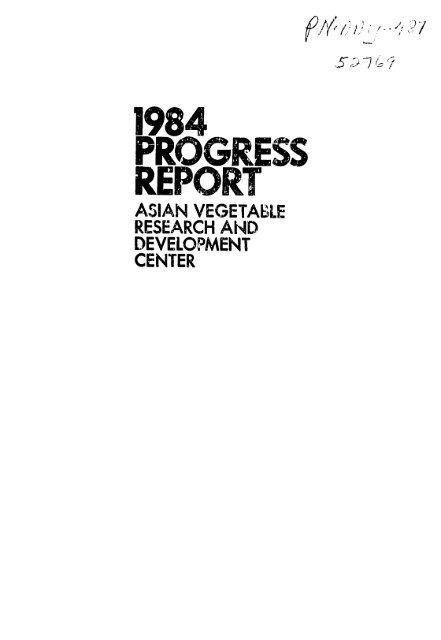 1984 REPvOR'T