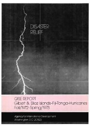 QiSE REPORT Gilberi &Ellice Islands-Fiji-Tonga-Hurricanes Fall ...
