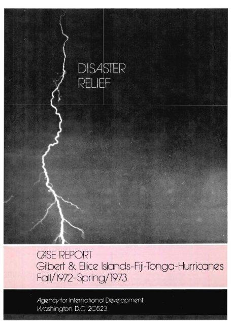QiSE REPORT Gilberi &Ellice Islands-Fiji-Tonga-Hurricanes Fall ...
