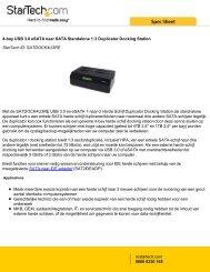 4-bay USB 3.0 eSATA naar SATA Standalone 1:3 Duplicator ...