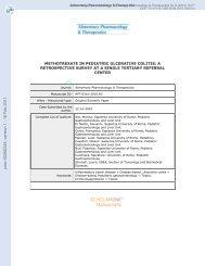 METHOTREXATE IN PEDIATRIC ULCERATIVE COLITIS: A ...