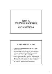 Fármacos diuréticos y antidiuréticos - Personal.us.es