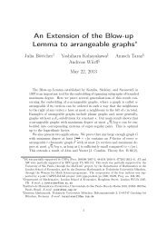 An Extension of the Blow-up Lemma to arrangeable graphs∗ - LSE