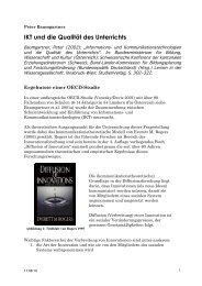 Baumgartner_2002_IKT und die Qualitaet des Unterrichts - Peter ...