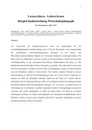 Baumgartner_Welte_2001_Lernen lehren – Lehren lernen - Peter ...