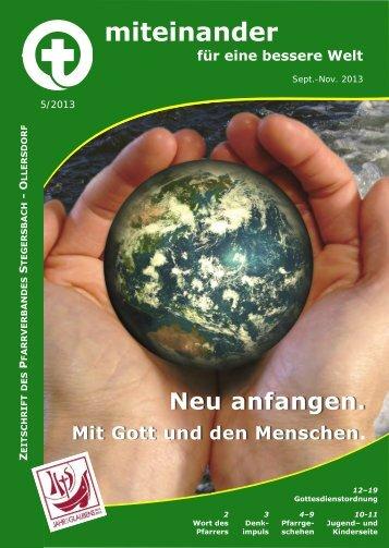 Pfarrblatt 5/2013 - Pfarre Stegersbach