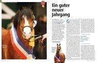 Ein guter neuer Jahrgang - Pferd+Sport